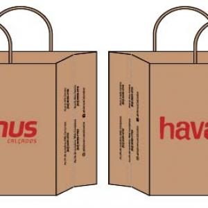 Fabrica de sacolas de papel personalizadas